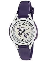 Sonata Analog White Dial Women's Watch - NF8972PP03J