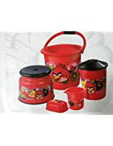 Angry Birds 5 pcs Bathroom Set for Kids High Quality