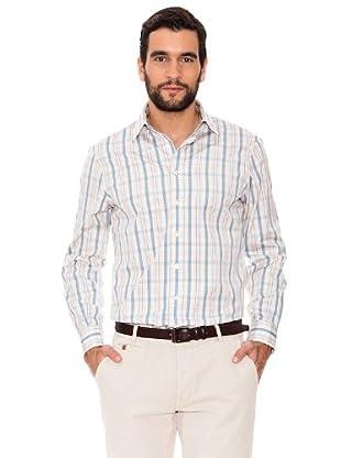 Arrow Camisa Clarck (azul claro / rosa)