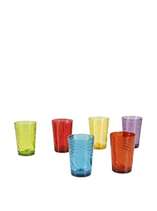 Delys by verceral Set De 6 Vasos En 6 Colores