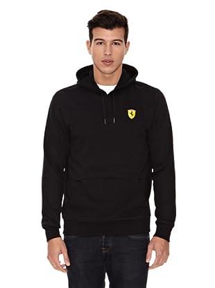 Ferrari Sudadera  Hooded (Negro)