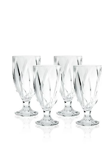 Noritake Set of 4 Breeze Iced Tea Glasses, Clear, 16-Oz.