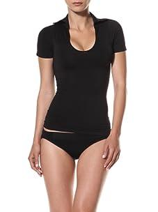 Cass Women's Polo Tee (Black)