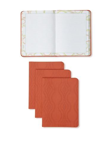 Mudlark Set of 4 Artifact Collection Journals (Coral)
