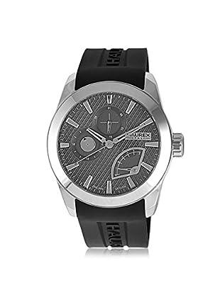 Haurex Men's 3A501UJN Magister Black/Grey Silicone Watch