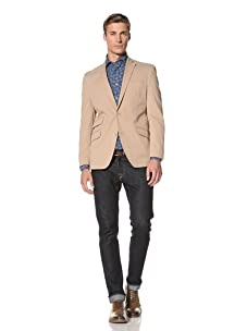 Tallia Men's Vezzo 2-Button Jacket (Tan)