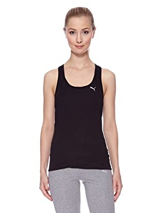 PUMA Tank Top Top Fitness Fashion (Schwarz)