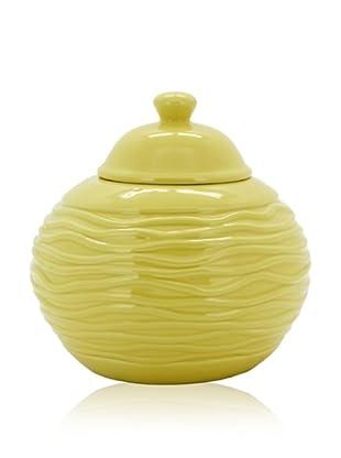 Pacific Décor Strata Longfire Pot, Yellow