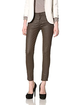 Rockstar Denim Women's Skinny Jean (Brown)