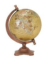 """Benzara 68864 Sturdy And Stylish Metal Pvc Globe, 7"""" W X 10"""" H"""