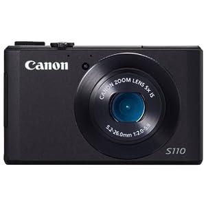 Canon デジタルカメラ PowerShot S110 約1210万画素 F2.0 光学5倍ズーム PSS110