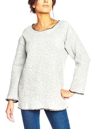 Special Coat Sweatshirt Miel hellgrau L