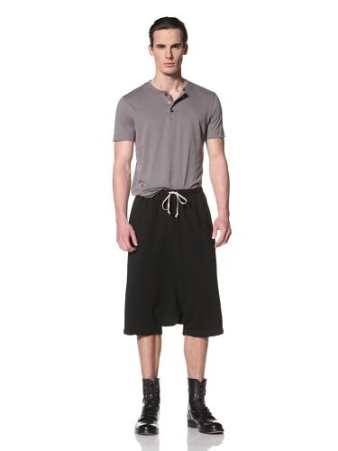 Rick Owens DRKSHDW Men's Pod Shorts (Black)