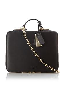 Gryson Women's Emma iPad Case with Chain Strap (Nero)