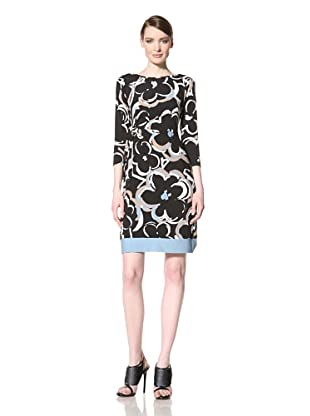 Donna Morgan Women's Addison Dress (Black Multi)