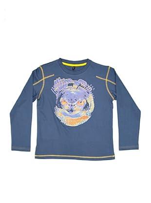 New Caro Camiseta Adorno (Azul)