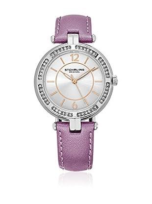 Stührling Original Reloj con movimiento cuarzo japonés Woman Serena 550 Silver