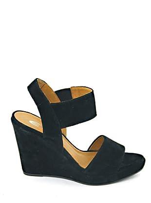 Eye Shoes Sandalias (Negro)