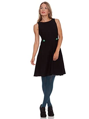Divina Providencia Vestido Liso (Negro)