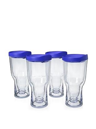 AdNArt Set of 4 Brew to Go (Blue)