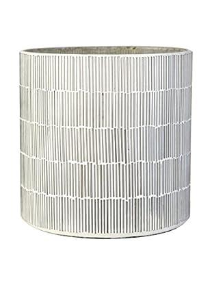 Lene Bjerre Carcie Large Tealight Candleholder, White