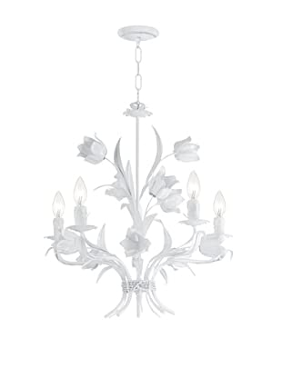 Gold Coast Lighting Southport Collection Chandelier, White
