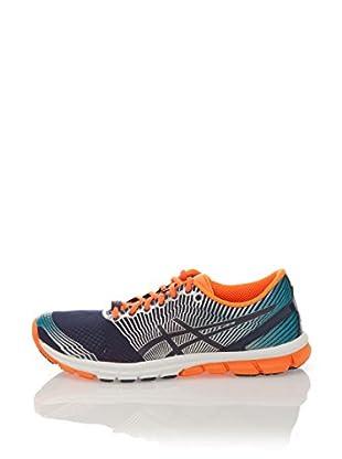 Asics Zapatillas Running Gel Lyte 33 Lite-Show (Azul / Naranja)