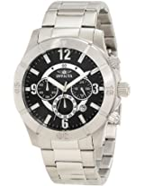 Invicta Men's 1420 Specialty Chronograph Black Dial Watch