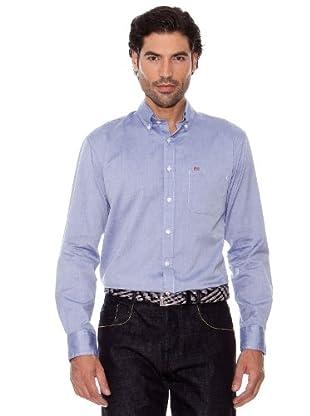 Pedro Del Hierro Camisa Oxford (Azul marino)
