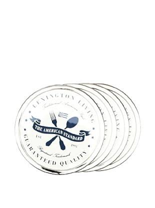 Lexington Company Posavasos Guaratedd Quality (Blanco / Azul)