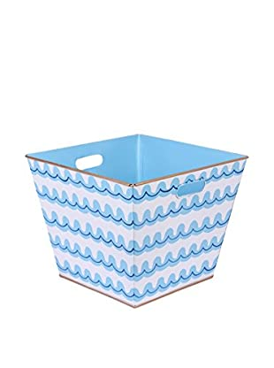 Malabar Bay Jetty Storage Bin, Blue