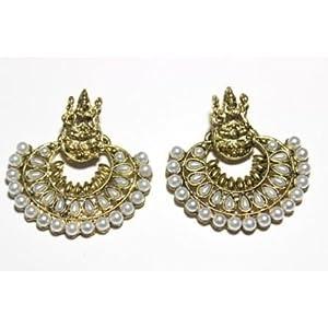 Ramleela Small Pearl Earings
