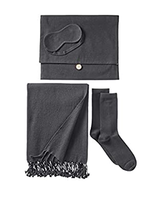 Nine Space Cashmere Travel Set, Grey