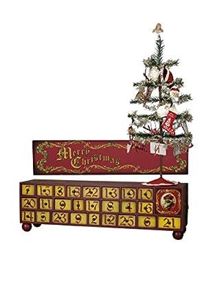 Vintage Advent Box