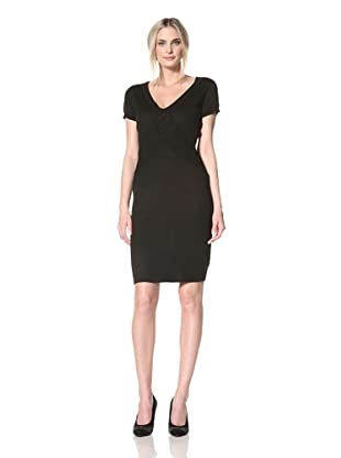 Marc New York Women's Crisscross Sweater Dress (Black)