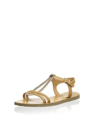 Trinity Women's Cut-Out T-Strap Sandal (Tampa-Xalkos)