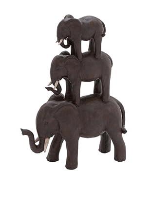 Elephant Stack Statue