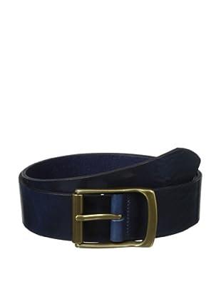 The British Belt Company Men's Rollerston Belt (Navy)