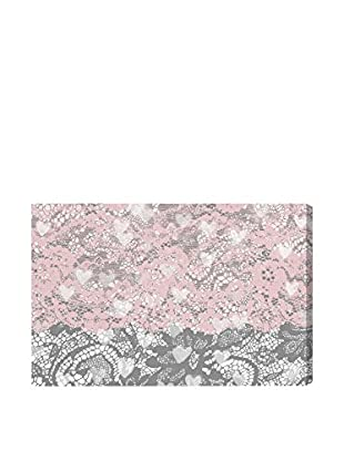 Oliver Gal 'Lacey Heart Eyes' Canvas Art