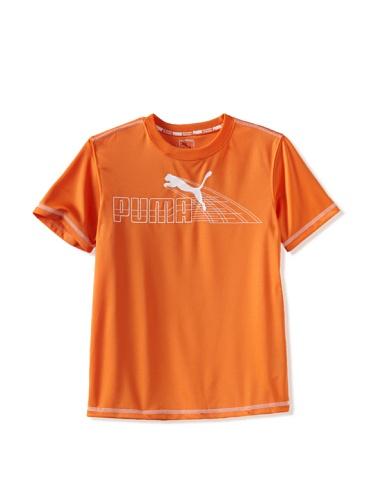 Puma Boys 8-20 Active Tee (Pop Orange)