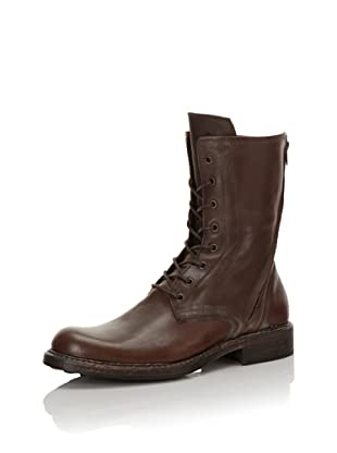 I.AM Men's Leather Lace-Up Boot (Brown)