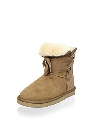 Australia Luxe Collective Women's Bedouin Short Lace-Up Boot (Chestnut)