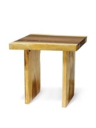 Palecek Plank Top Side Table