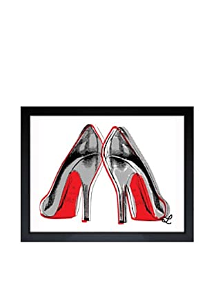Oliver Gal Fire in Your New Shoes Framed Art