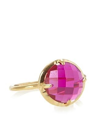 KiraKira Pink Topaz Gemma Ring
