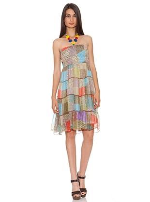 Rare Vestido Parche (Multicolor)