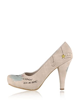 Dogo High Heel I Wanna Fall From The Stars (Creme)