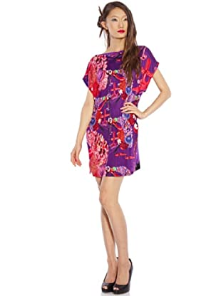 Custo Barcelona Kleid Chic (Violett)