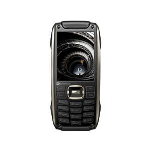 Micromax X50 Dual SIM Mobile Phone-Black