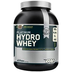 Optimum Nutrition Platinum Hydro Whey Turbo Chocolate 1 Pound (Pack Of 3)